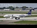 [HD] ERJ-190 Alitalia Cityliner (Skyteam livery) taxiing take off at Brindisi Airport