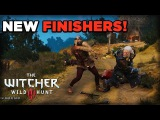 Finishing Moves DLC Gameplay - The Witcher 3: Wild Hunt