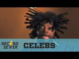 World Record Questlove Puts Afro Picks In His Hair