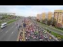 Марафон Алматы 2015. Аэросъемка