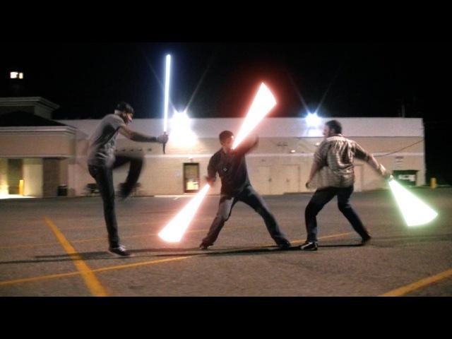 Уличные разборки будущего... - Ferocity - LCCXs Winning Lightsaber Duel