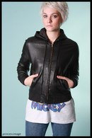 Black Bomber Jacket Womens