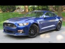 2015 Ford Mustang GT Fastback 6 Spd Performance Package Start Up Road Test and In Depth Review