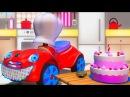 Развивающие мультики для детей про машинки все серии подряд, сборник мультиков Зим Зум