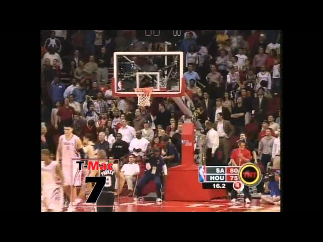 Tracy McGrady - 13 points in 35 seconds, December 9, 2004 (HD)