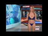 Naked News Raya Miller and Eila Adams in News off the Top