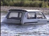 ВИДЕОРЕГИСТРАТОР Трейлер Экстрим 4х4 Нива ВАЗ 2121 Бездорожье, река в брод