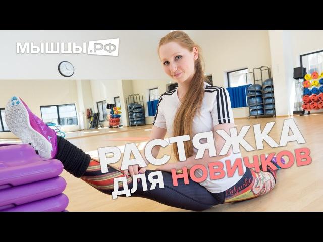 Уроки гибкости для начинающих Дома и в зале Лена Романова