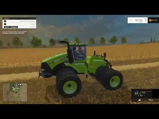 Мод трактор Case IH Steiger 535 Green v 1.0 Farming Simulator 2015