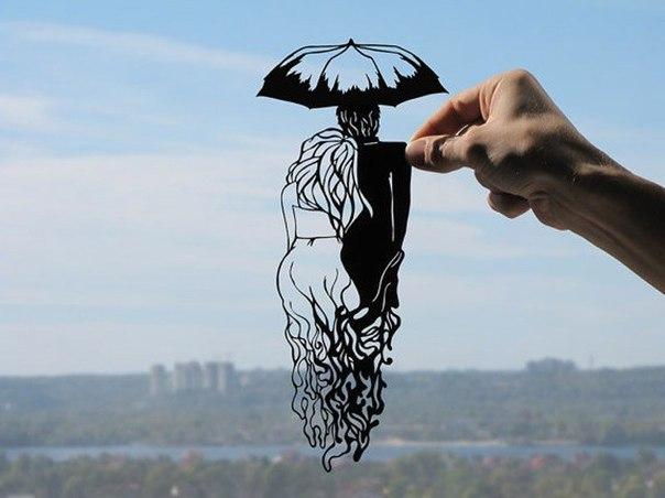 Из бумаги вырезать - тоже искусство