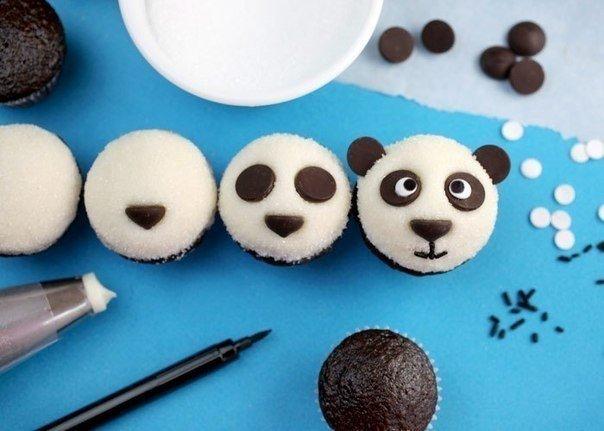 Идея стильного оформления десерта