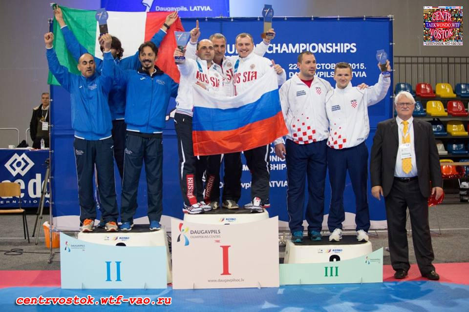 Russia Team winner