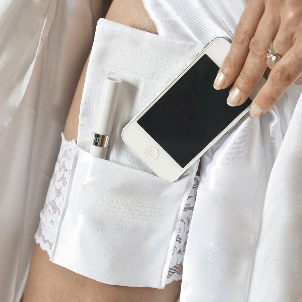 подвязка невесты для iPhone