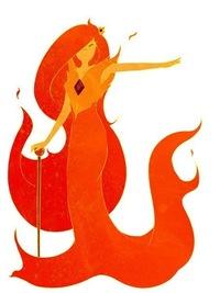время приключений огненная принцесса картинки