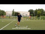 Side Jumping | Amazing Insane Street Football Futsal Skills Tutorial