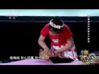Девочка на китайском шоу талантов гипнотизирует и усыпляет животных - Girl Hypno_low