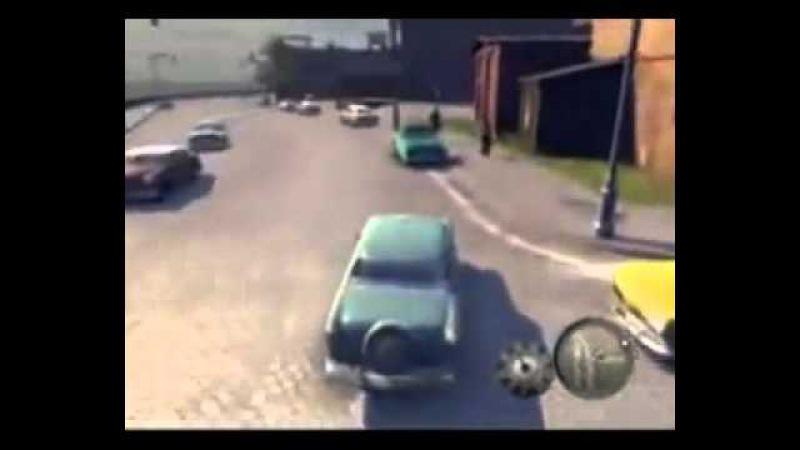 Иван Гамаз паркуется