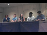 MAZE RUNNER THE SCORCH TRIALS cast Q&ampA part 1 (of 2)