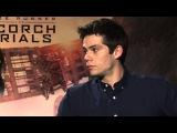 MAZE RUNNER THE SCORCH TRIALS Cast Q&ampA - Dylan O'Brien &amp Kaya Scodelario
