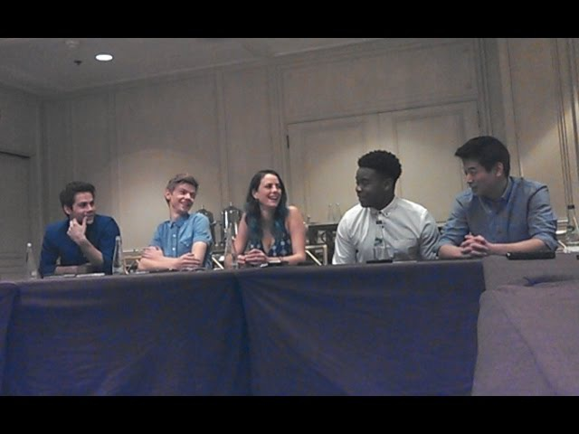 MAZE RUNNER: THE SCORCH TRIALS cast QA part 1 (of 2)