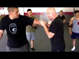 Martial art science - what is contact, what is a grab
