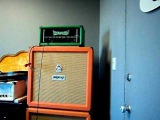 GREEN ELECTRIC AMP CLONE TEST 2 Master Volume EL34 demo matamp orange