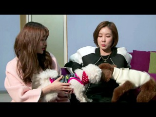 |150317| Jieun & Hana Cut @ SONAMOO's Pet House