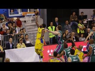 Highlights: Unicaja Malaga-Maccabi Electra Tel Aviv