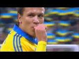 Футбол. Украина - Беларусь 3:1 Видео голов!