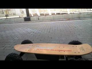 Электро-скейт отзыв от Аллеи Здоровья
