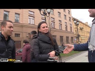 Русская студентка попала в секс-пикап
