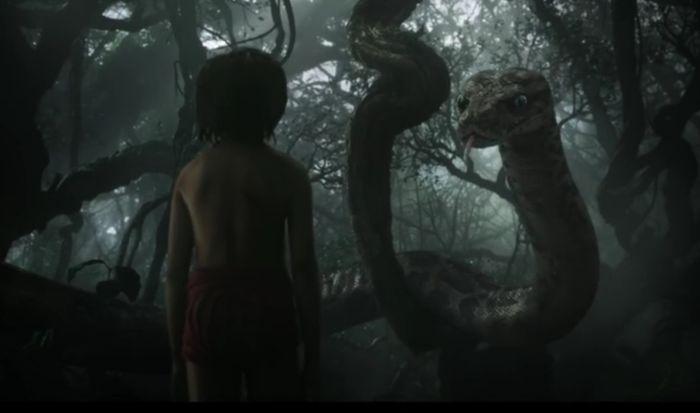 """Первый трейлер новой """"Книги джунглей"""" от Disney (видео)"""