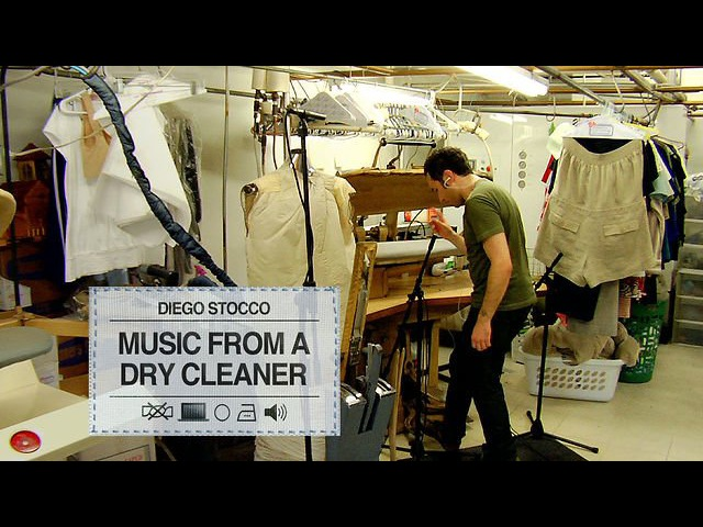 Diego Stocco Music From A Dry Cleaner