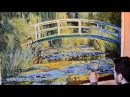 Monet Water Lily Pond and Japanese Bridge Art Reproduction Oil Painting