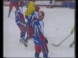 BANDY: VM-FINAL 2001 SVERIGE-RYSSLAND