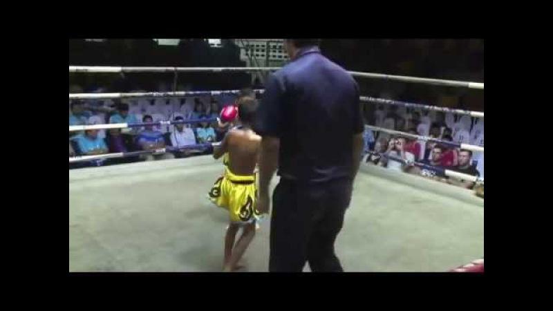 Детские соревнования в тайском боксе ЖЁСТКИЙ НОКАУТ