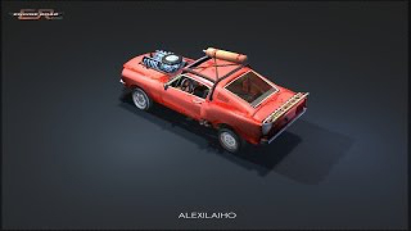Engine Roar - ALEXILAIHO - Blender Game Engine