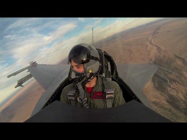 JDAMs F-16 Incentive Flight (HD GoPro)