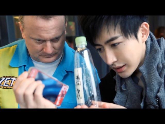 Yif Magic手機穿越24847;念開罐 [官方HD] IPhone through Water Bottle Self-Open Soda Can