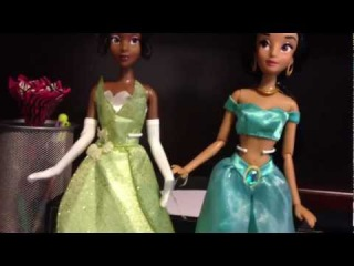 2013 Disney Store Princess Tiana & Jasmine Doll Review