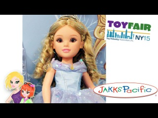 Disney Princess Frozen, Cinderella, Ariel Jasmine and Star Wars at Jakks Pacific NYTF 2015