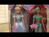 Disney Store Singing 2010 Cinderella and Jasmine Doll Review
