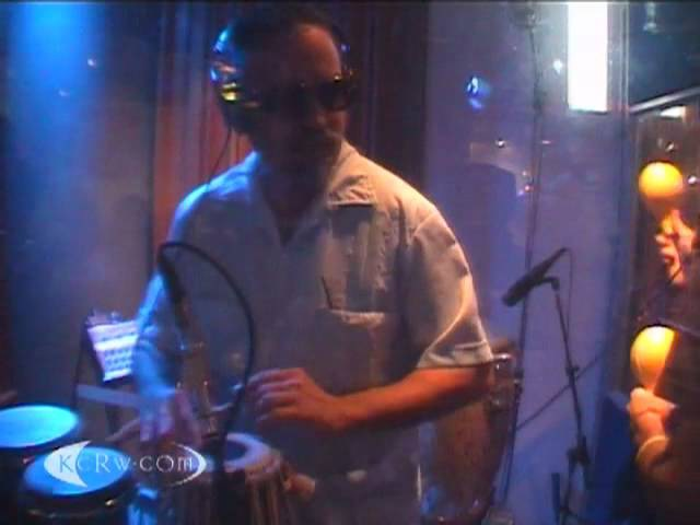 Thievery Corporation performing Lebanese Blonde on KCRW