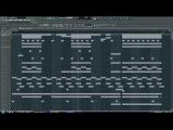 Hard aggressive Hip-Hop RAP Gangsta Instrumental (Fl Studio)