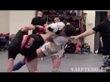 ValeTudo_ Adlan Amagov vs. Jamie Varner training