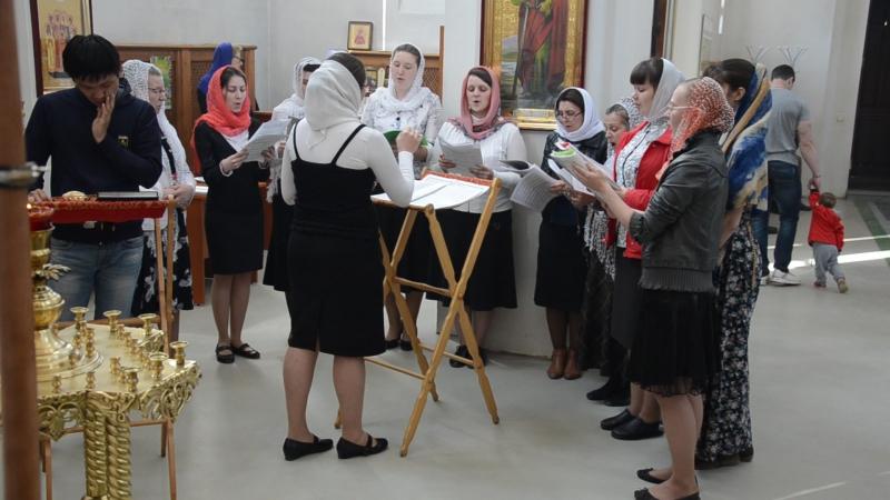 Выпускная Литургия Юлии Ивановой. 15 мая 2015. Запричастный концерт