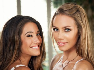 WhenGirlsPlay – Eva Lovia And Nicole Aniston – Sensual Delights
