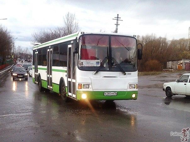 городской транспорт в Дядьково