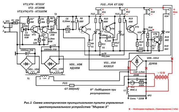 Вот схема ЦМУ.