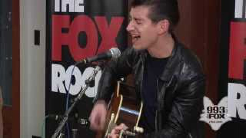 Arctic Monkeys No 1 Party Anthem Fox Uninvited Guest